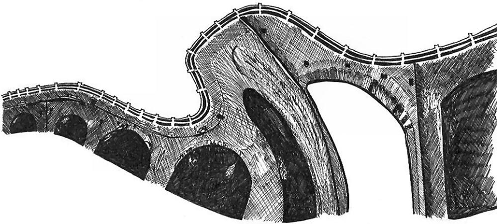 Viaduct  by Sally Bath