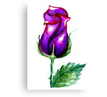 Colorful Painted Rose 3 Canvas Print