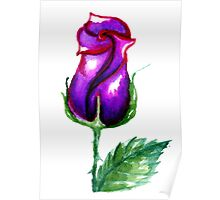 Colorful Painted Rose 3 Poster