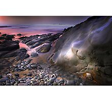 Pebble Dawn Photographic Print