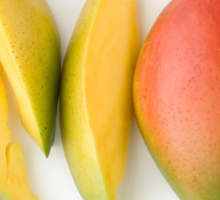 Mango as a Healthy and Nutritious Fruit Sticker
