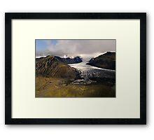Relief  Framed Print