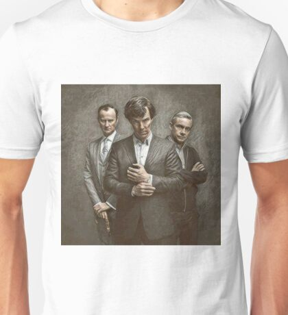 The Government, The Soldier and the Consulting Detective Unisex T-Shirt