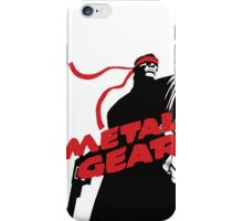 METAL GEAR iPhone Case/Skin
