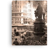 Fountain, Union Square Canvas Print