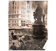 Fountain, Union Square Poster