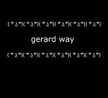 ( ͡° ͜ʖ ͡°) Gerard Way by mayaaubrey
