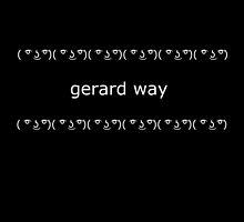 ( ͡° ͜ʖ ͡°) Gerard Way by Maya Aubrey