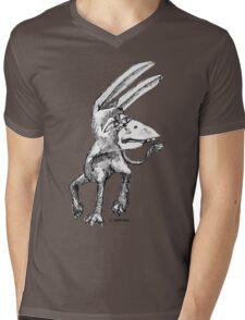 Donkey Bird Mens V-Neck T-Shirt