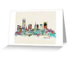 oklahoma city oklahoma Greeting Card
