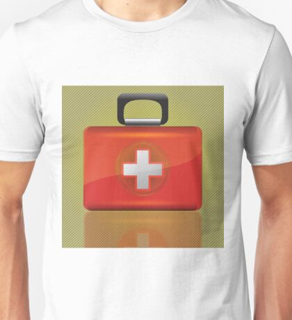 red aid box Unisex T-Shirt