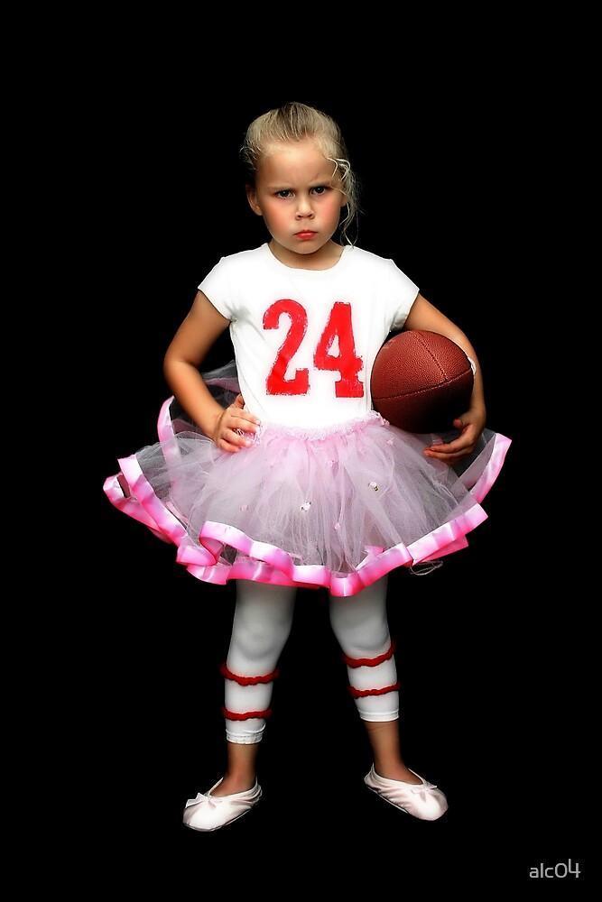 Quarterback Princess by alc04