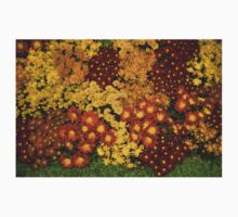 Bunches of Yellow, Copper, Orange, Red, Maroon - Fabulous Autumn Abundance Kids Clothes