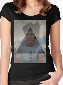 Cameron Dallas Women's Fitted Scoop T-Shirt