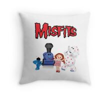Misfit Toys Throw Pillow