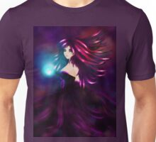 Girl with magic ball Unisex T-Shirt