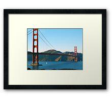 Golden Gate Bridge Art Framed Print