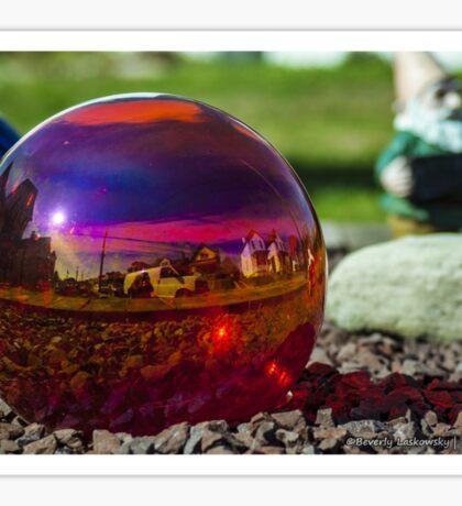 Glass Ball Garden Decor Sticker
