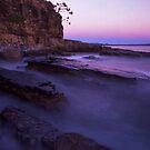 rock slabs - Noosa heads by Tony Middleton