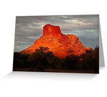 Goyder's Pillar, North Simpson Desert Greeting Card