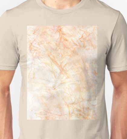 Orange Paint Background 7 Unisex T-Shirt