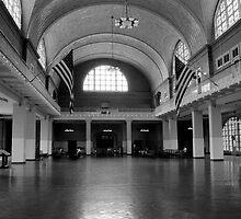 Ellis Island by Elvis Diéguez