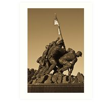 Uncommon Valor II Art Print