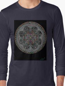 Fractal Enlightenment Long Sleeve T-Shirt