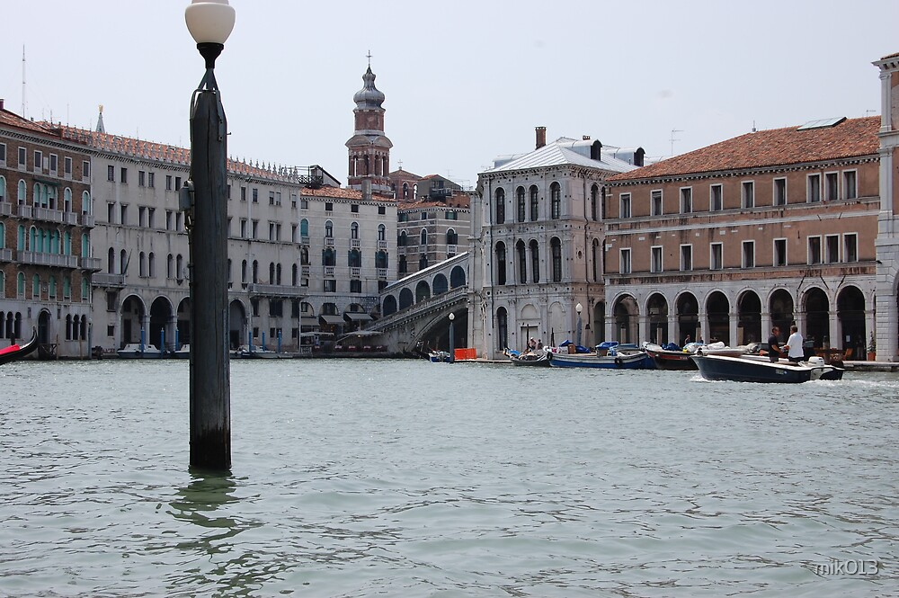 Grand Canal, Venice by mik013