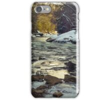 The Water at McConnell's Mill (Mid November 2014) iPhone Case/Skin