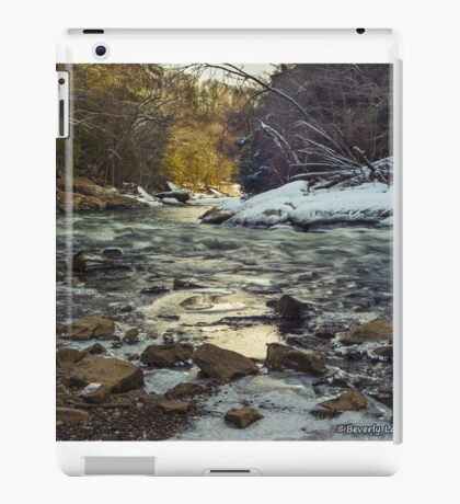 The Water at McConnell's Mill (Mid November 2014) iPad Case/Skin