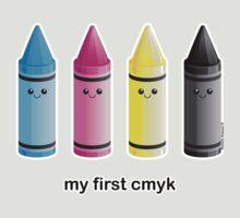My First CMYK by kimchikawaii