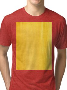 Painted Yellow Texture 2 Tri-blend T-Shirt