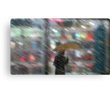 Horizontal Rain San Francisco Canvas Print