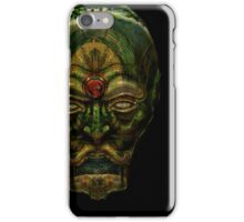 The black Android iPhone Case/Skin