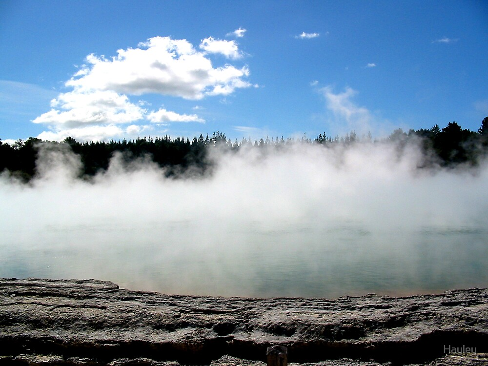 Steamy Sulphur Pool by Hayley