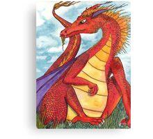 Sir Dragon Canvas Print