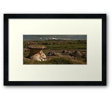 Milk River Stonescape Framed Print