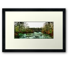 Above Niagara Framed Print