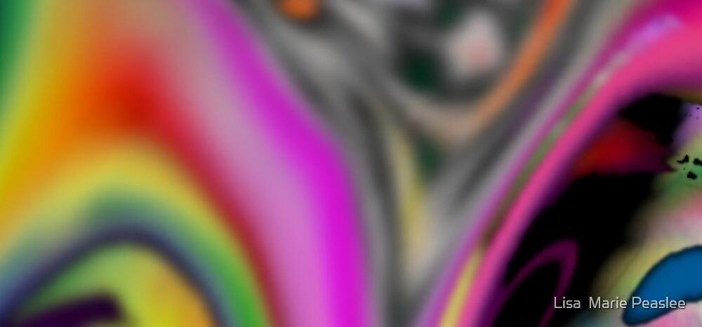 Rainbow Smoothie by Lisa  Marie Peaslee