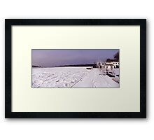 Youngstown, New York Framed Print