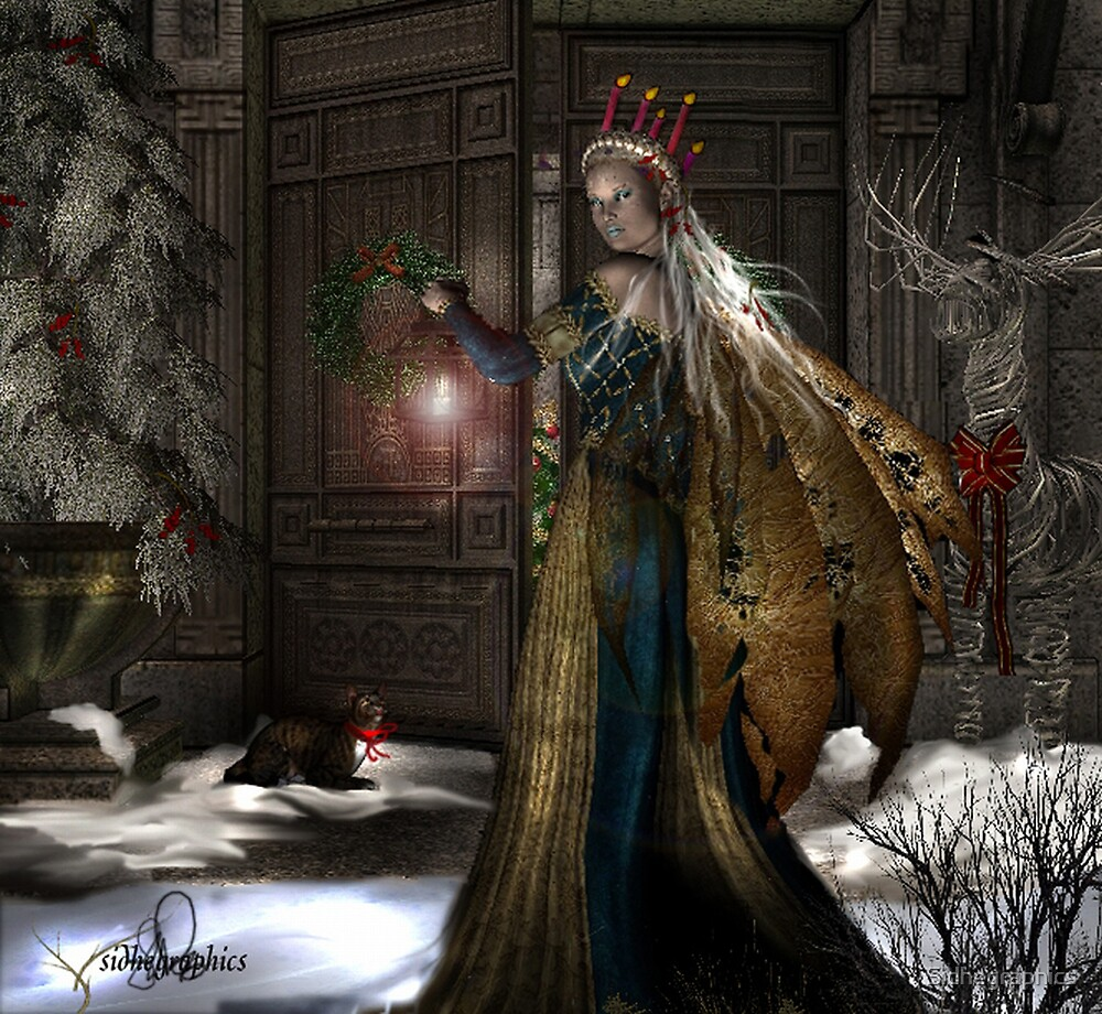 Welcome Yule by Sidhegraphics