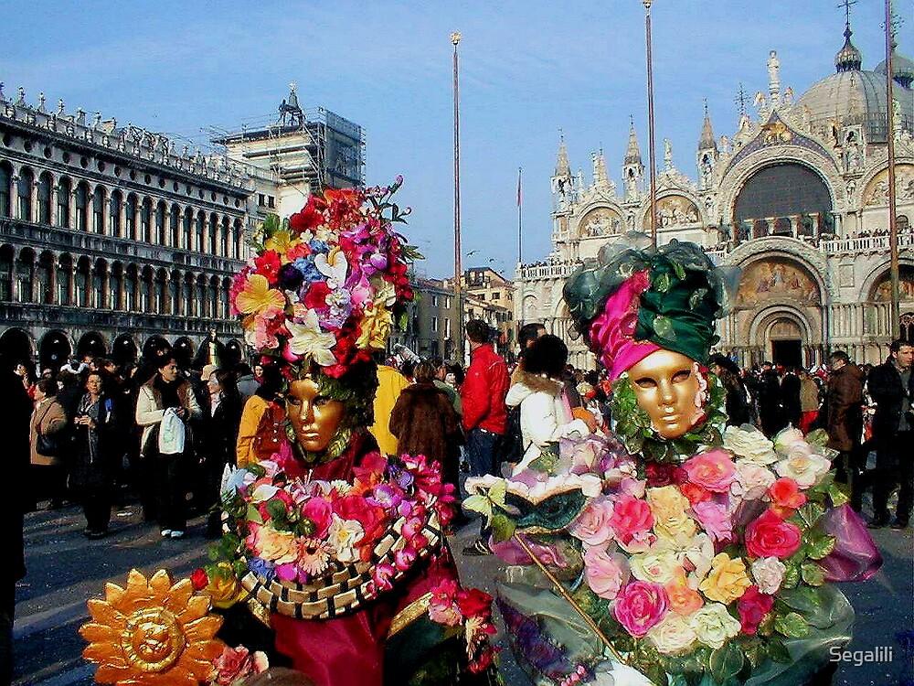 Venice Mask Carnival by Segalili