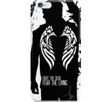 FIGHT THE DEAD, FEAR THE LIVING - DARYL DIXON iPhone Case/Skin