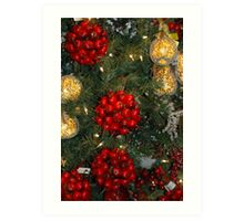 Holiday Decorations Art Print