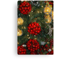 Holiday Decorations Canvas Print