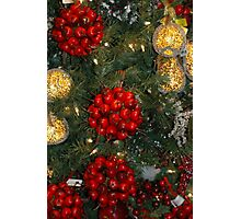 Holiday Decorations Photographic Print