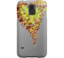 autumn heart Samsung Galaxy Case/Skin