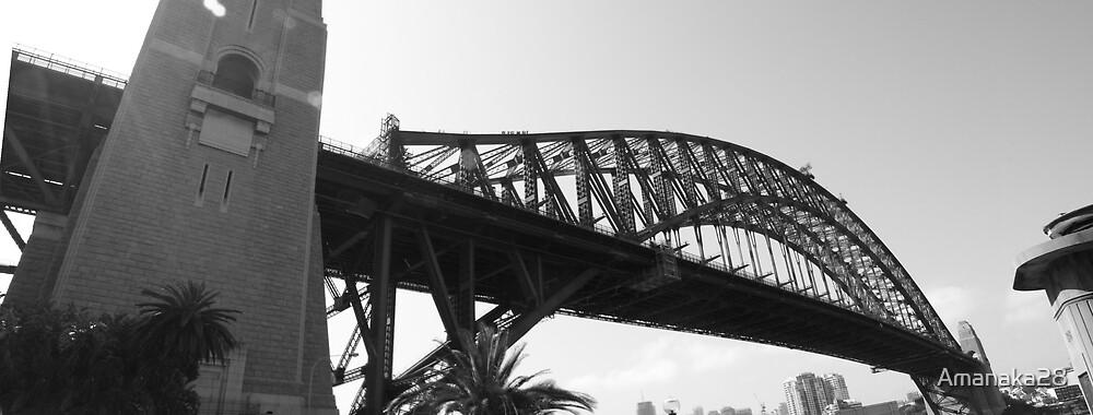 sydney harbour bridge by Amanaka28