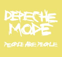 Depeche Mode : People are People - 1 - White Kids Clothes